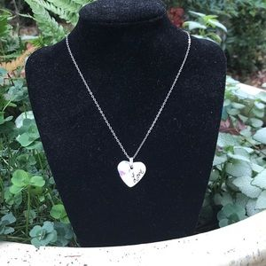 Jewelry - 💕Adorable LOVE ceramic heart necklace💕